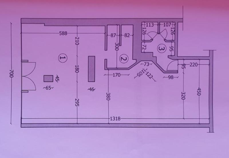 Poslovni prostor 89 m2 – prodaja.